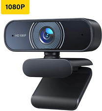 RALENO 1080P Webcam Dual Built-in Microphones Full HD Video Camera Webcam C30