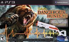 Cabelas Dangerous Hunts 2013 with Gun - Playstation 3