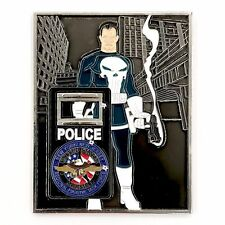 PUNISHER US Marshal New York New Jersey Fugitive Task Force Challenge Coin NYPD