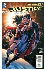 JUSTICE LEAGUE #12(2nd)(11/12)SUPERMAN/WONDER WOMAN KISS(BATMAN)J.LEE(CGC IT)9.8
