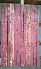 "Aromatic Eastern Red Cedar T & G Paneling - 4 1/2"" X 96"" X 1/2"" - 12pcs 36 sq ft"