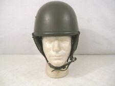 post-Wwii Italian M33 Army Tanker Helmet w/Liner - Unissued - Rare