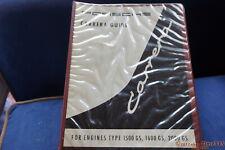 1963 Porsche workshop manual Carrera Guide 356 Factory original FreeShip NoReser