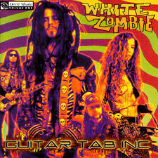 White Zombie Guitar & Bass Tab LA SEXORCISTO Lessons on Disc Rob