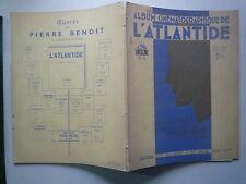 1932 ALBUM CINEMATOGRAPHIQUE DE L'ATLANTIDE CINE OR N° 8 CHEZ JULES TALLANDIER