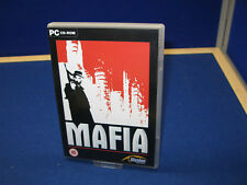 MAFIA 1 - PC GAME -  ORIGINAL & COMPLETE WITH MANUAL & MAP / POSTER