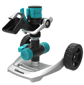 831673-1011 Impulse Sprinkler With Wheel Base, Metal - Quantity 1