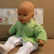Baby Cardigan Mint Green Clothing Woolen Knitted Baby Jumper Jackets Sweater