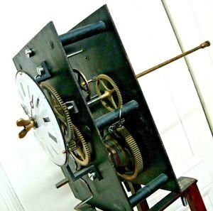 horloge regulateur cheville d'édifice uhr clocher comtoise tower clock turmuhr