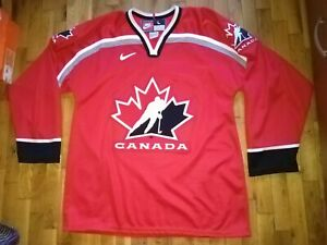 Canada national hockey team jersey shirt Nike vintage 1998 years red size L