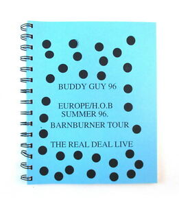 Buddy Guy 1996 Barnburner Tour Band & Crew Itinerary Book