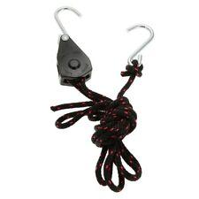 """Jumbo Rope Ratchet 1/4"""" Lichtaufhängung m. Metallkarabiner NEU Light Hanger 68kg"""