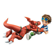 Digimon Tamers: Matsuda Takato & Guilmon Figure New In Box