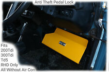Anti Theft Pedal Lock to fit Land Rover Defender 90 110 1983 through to 1998