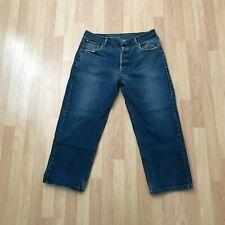 Levi's 501 xx Vintage USA Made Denim Blue Jeans Actual Size 36 x 27 (Tag 40x32)