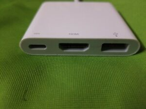 Genuine Apple USB-C Digital AV Multiport Adapter