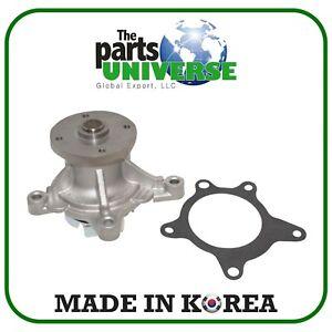 Water Pump for 10-16 Sonata Accent Veloster Optima Soul Rio 1.6L OEM 251002B700