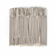 10 PCE SILVER TAIL SIZE 22 ,EMBROIDERY/CROSS STITCH ECT!! SEWING NEEDLES.