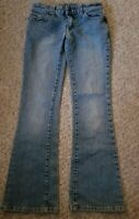 WET SEAL Bootcut Denim Jeans Ladies SMALL Size 0-1