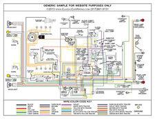 "1937 37 LaSalle 37 50 Full Color Laminated Wiring Diagram 11"" X 17"""