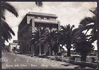 SAVONA LOANO 58 HOTEL ALBERGO PERELLI Cartolina FOTOGRAFICA viaggiata 1954