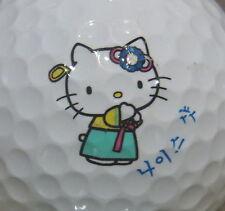 (1) HELLO KITTY DISNEY LOGO GOLF BALL
