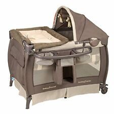 Portable Baby Crib Travel Bassinet Infant Nursery Bed Sleeper Cradle Pack N Play