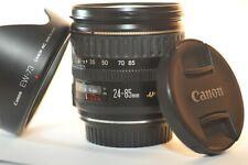 Canon EF 24-85mm f/3.5-4.5 USM FX lens EW-73 for EOS 3 Rebel T7 80D 90D 7D 5D 6D