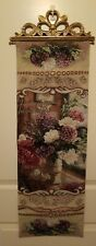 """Today I Said A Prayer Tapestry Bell Pull USED 13""""X36.5"""" LN BEAUTIFUL #90630"""