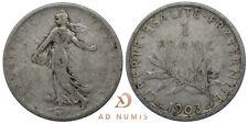 RARE 1 Franc Semeuse 1903 Argent - France