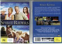 Spirit Riders * NEW DVD * Allie Deberry Lance Henriksen horse family movie