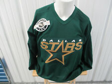 VINTAGE CCM NHL DALLAS STARS SEWN MEDIUM PRACTICE JERSEY NEW W/ TAGS 1993-2013