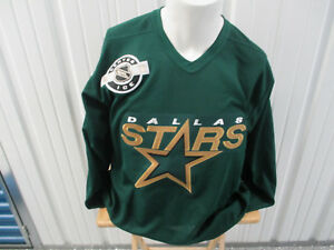 VINTAGE CCM NHL DALLAS STARS SEWN MEDIUM PRACTICE JERSEY NEW W/ TAGS 1993-2013
