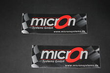 #59 microns d'échappement EXHAUST moto autocollant sticker décalque bapperl colle race