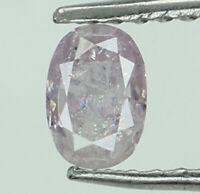 Natural Loose Diamond Oval Pink Color I3 Clarity 4.00 MM 0.21 Ct N8378