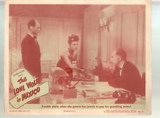 Lone Wolf In Mexico-Gerald Mohr-Eric Blore-Sheila Ryan-11x14-Color-Lobby Card