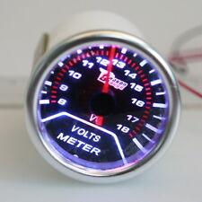 52mm 2'' Car Motor Mechanical Volt Voltmeter Voltage Meter Gauge 10~15V 12V DC