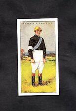1930 Ogden's Cigarette Card Jockey 1930 No37 C. Ray