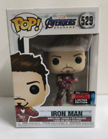 Funko Pop! Marvel Avengers Endgame Iron Man SDCC shared sticker #529