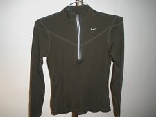 Women's Nike Fit Dry Running Athletic 1/2 Zip Shirt Pullover Sz XS (0-2)