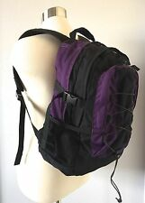 VTG Rare EDDIE BAUER Purple/Black Backpack-Day Pack-Hydration Friendly-18X11X6""