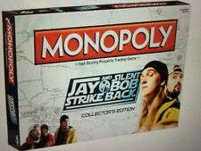 JAY AND SILENT BOB STRIKE BACK MONOPOLY COLLECTORS EDITION NEW AND SEALED
