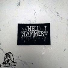 Patch Hellhammer Black Trash Death Metal band.