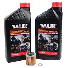 YAMAHA YZ450F 2006–2009 Tusk Oil Change Kit Yamalube All Purpose 10W-40