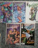 Danger Girl #1-6 Comic Lot of 11  WITH VARIANT COVERS Cliffhanger