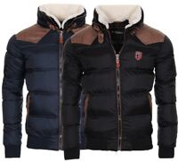 Geographical Norway Herren Winter Jacke Winter Parka warm gefüttert Bomberjacke