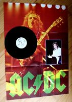 "EX! AC/DC THUNDERSTRUCK 12"" LIMITED EDITION VINYL POSTER SLEEVE DISC"