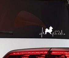 Chihuahua Aufkleber Herz Schlag Hunde Auto Sticker Heart Beat Dog Wand tattoo