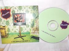 ROXETTE - THE CENTRE OF THE HEART - AUSTRALIAN 2 TRK CD SINGLE - CARD SLEEVE -