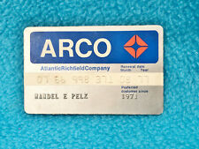 Vintage Arco Credit Card - Expired 1971